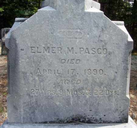 PASCO, ELMER M - Warren County, New York | ELMER M PASCO - New York Gravestone Photos