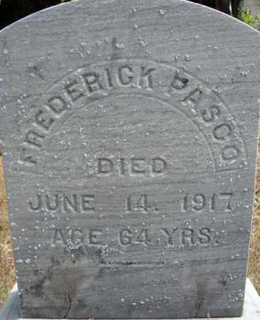 PASCO, FREERICK - Warren County, New York   FREERICK PASCO - New York Gravestone Photos