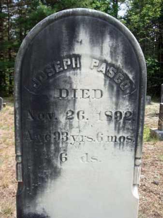 PASCO, JOSEPH - Warren County, New York | JOSEPH PASCO - New York Gravestone Photos