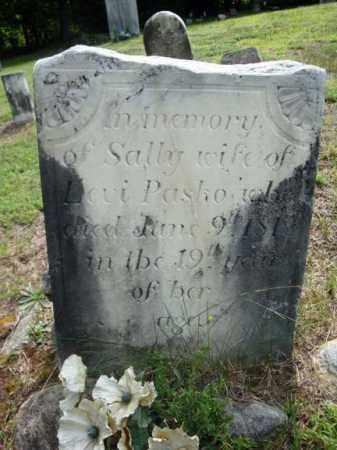 PASCO, SALLY - Warren County, New York | SALLY PASCO - New York Gravestone Photos