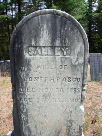 PASCO, SALLEY - Warren County, New York | SALLEY PASCO - New York Gravestone Photos
