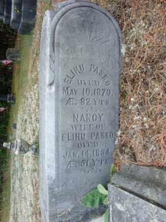 PASKO, ELIHU - Warren County, New York | ELIHU PASKO - New York Gravestone Photos