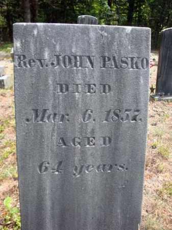 PASKO, JOHN - Warren County, New York | JOHN PASKO - New York Gravestone Photos