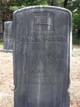PASKO, JOHN H - Warren County, New York | JOHN H PASKO - New York Gravestone Photos