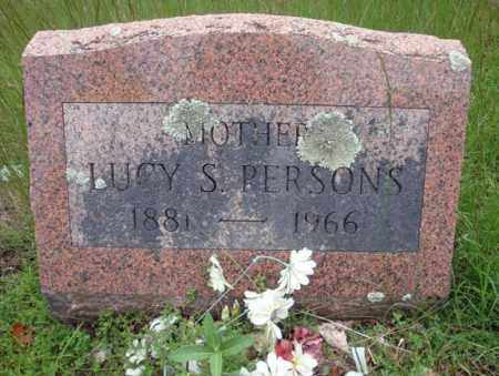 PERSONS, LUCY S - Warren County, New York | LUCY S PERSONS - New York Gravestone Photos