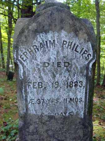 PHILIPS, EPHRAIM - Warren County, New York | EPHRAIM PHILIPS - New York Gravestone Photos
