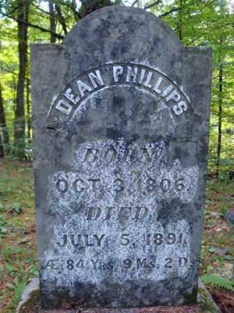 PHILLIPS, DEAN - Warren County, New York | DEAN PHILLIPS - New York Gravestone Photos