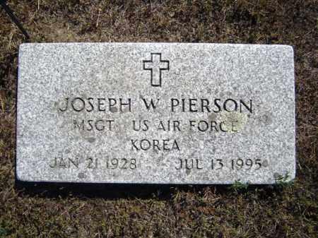 PIERSON (KOR), JOSEPH W - Warren County, New York | JOSEPH W PIERSON (KOR) - New York Gravestone Photos