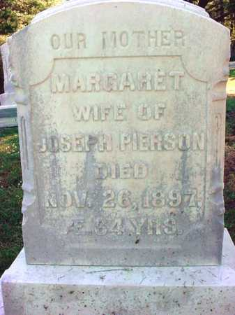PIERSON, MARGARET - Warren County, New York   MARGARET PIERSON - New York Gravestone Photos