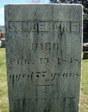 PIKE, SAMUEL - Warren County, New York   SAMUEL PIKE - New York Gravestone Photos