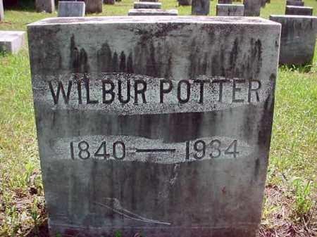 POTTER, WILBUR - Warren County, New York | WILBUR POTTER - New York Gravestone Photos