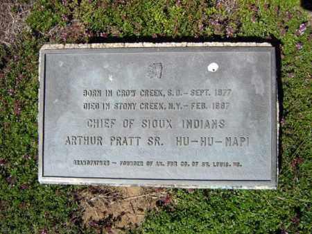 PRATT, ARTHUR - Warren County, New York | ARTHUR PRATT - New York Gravestone Photos