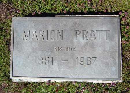 PRATT, MARION - Warren County, New York | MARION PRATT - New York Gravestone Photos