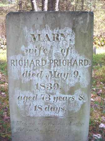 JEFFREYS PRICHARD, MARY - Warren County, New York | MARY JEFFREYS PRICHARD - New York Gravestone Photos