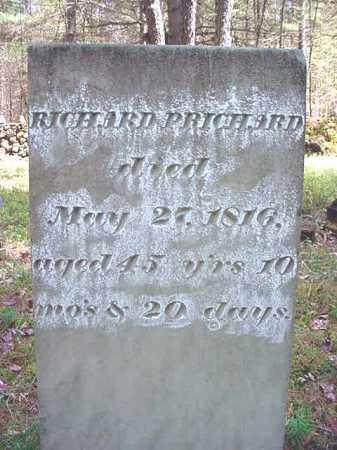 PRICHARD, RICHARD - Warren County, New York   RICHARD PRICHARD - New York Gravestone Photos