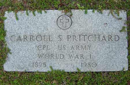 PRITCHARD, CARROLL S - Warren County, New York | CARROLL S PRITCHARD - New York Gravestone Photos