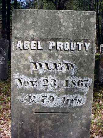 PROUTY, ABEL - Warren County, New York | ABEL PROUTY - New York Gravestone Photos
