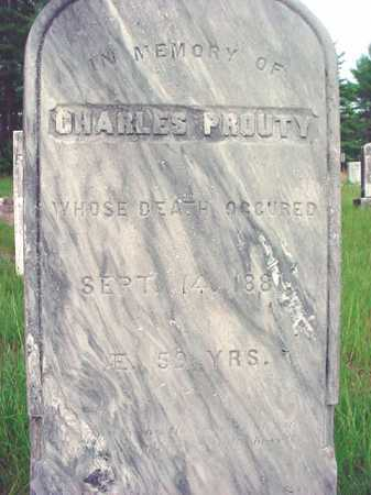 PROUTY, CHARLES - Warren County, New York   CHARLES PROUTY - New York Gravestone Photos