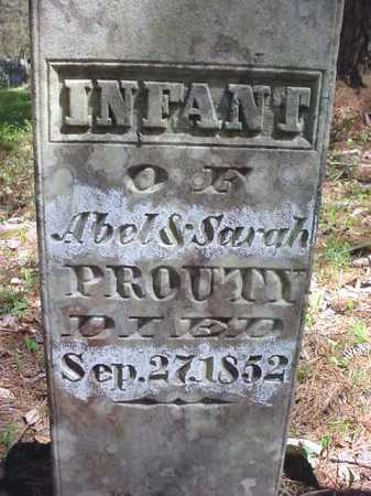 PROUTY, INFANT - Warren County, New York | INFANT PROUTY - New York Gravestone Photos