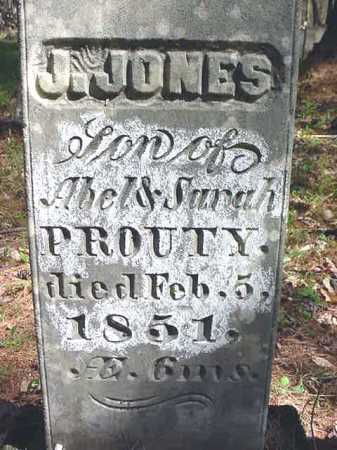 PROUTY, J. JONES - Warren County, New York   J. JONES PROUTY - New York Gravestone Photos