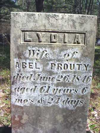 PROUTY, LYDIA - Warren County, New York | LYDIA PROUTY - New York Gravestone Photos