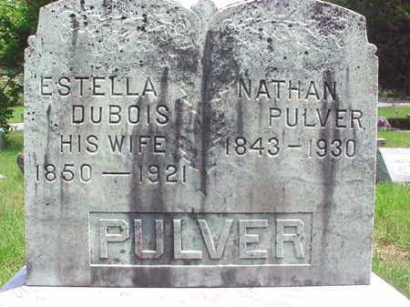 DUBOIS PULVER, ESTELLA - Warren County, New York | ESTELLA DUBOIS PULVER - New York Gravestone Photos