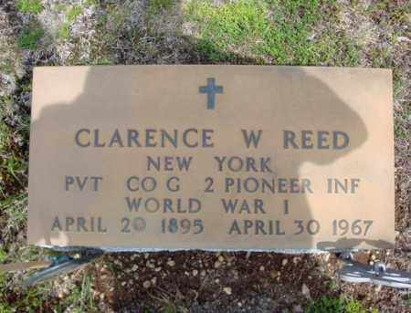 REED (WWI), CLARENCE W - Warren County, New York | CLARENCE W REED (WWI) - New York Gravestone Photos