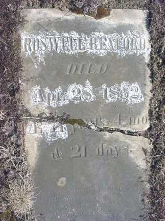 REXFORD, ROSWELL - Warren County, New York | ROSWELL REXFORD - New York Gravestone Photos