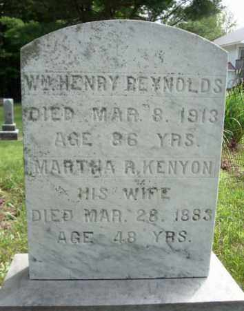 KENYON, MARTHA R - Warren County, New York | MARTHA R KENYON - New York Gravestone Photos
