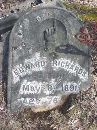 RICHARDS, EDWARD - Warren County, New York | EDWARD RICHARDS - New York Gravestone Photos