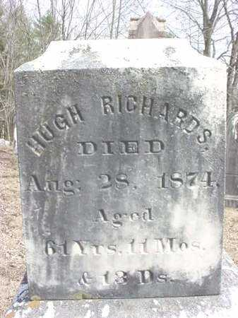 RICHARDS, HUGH - Warren County, New York | HUGH RICHARDS - New York Gravestone Photos