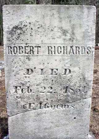 RICHARDS, ROBERT - Warren County, New York | ROBERT RICHARDS - New York Gravestone Photos