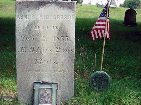 RICHARDSON, ABNOR - Warren County, New York | ABNOR RICHARDSON - New York Gravestone Photos