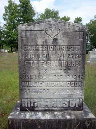 RICHARDSON, ETTIE - Warren County, New York | ETTIE RICHARDSON - New York Gravestone Photos