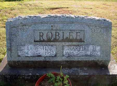 ROBLEE, LUIE H - Warren County, New York | LUIE H ROBLEE - New York Gravestone Photos