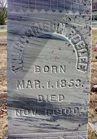 ROBLEE, WILLIAM HARRISON - Warren County, New York   WILLIAM HARRISON ROBLEE - New York Gravestone Photos