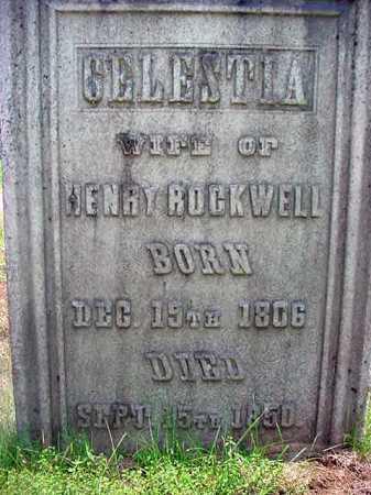 LEWIS ROCKWELL, CELESTIA - Warren County, New York | CELESTIA LEWIS ROCKWELL - New York Gravestone Photos