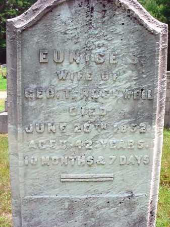 ROCKWELL, EUNICE S - Warren County, New York | EUNICE S ROCKWELL - New York Gravestone Photos