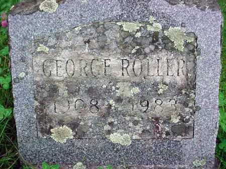 ROLLER, GEORGE - Warren County, New York | GEORGE ROLLER - New York Gravestone Photos
