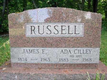 RUSSELL, JAMES E - Warren County, New York | JAMES E RUSSELL - New York Gravestone Photos
