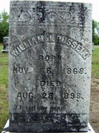 RUSSELL, WILLIAM J - Warren County, New York | WILLIAM J RUSSELL - New York Gravestone Photos