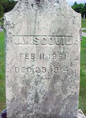 SCOVIL, J W - Warren County, New York | J W SCOVIL - New York Gravestone Photos