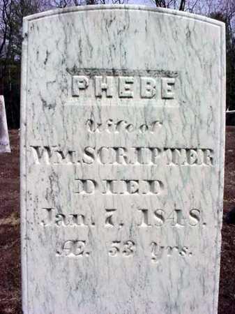 SCRIPTER, PHEBE - Warren County, New York | PHEBE SCRIPTER - New York Gravestone Photos