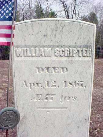 SCRIPTER, WILLIAM - Warren County, New York   WILLIAM SCRIPTER - New York Gravestone Photos