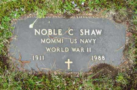 SHAW, NOBLE C - Warren County, New York | NOBLE C SHAW - New York Gravestone Photos