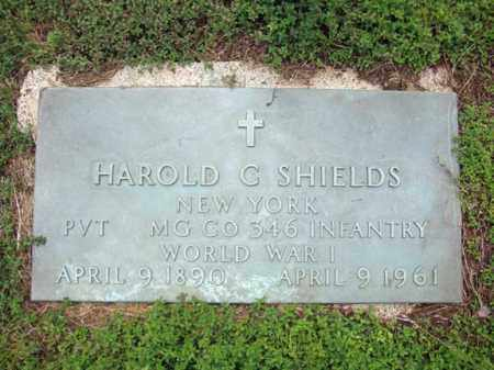 SHIELDS, HAROLD C - Warren County, New York   HAROLD C SHIELDS - New York Gravestone Photos