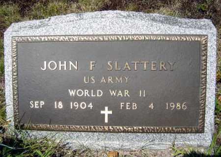 SLATTERY (WWII), JOHN F - Warren County, New York   JOHN F SLATTERY (WWII) - New York Gravestone Photos