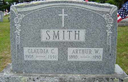 SMITH, CLAUDIA C - Warren County, New York | CLAUDIA C SMITH - New York Gravestone Photos