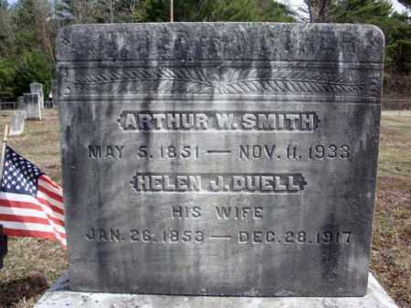SMITH, ARTHUR W - Warren County, New York | ARTHUR W SMITH - New York Gravestone Photos