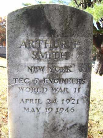 SMITH, ARTHUR E - Warren County, New York | ARTHUR E SMITH - New York Gravestone Photos
